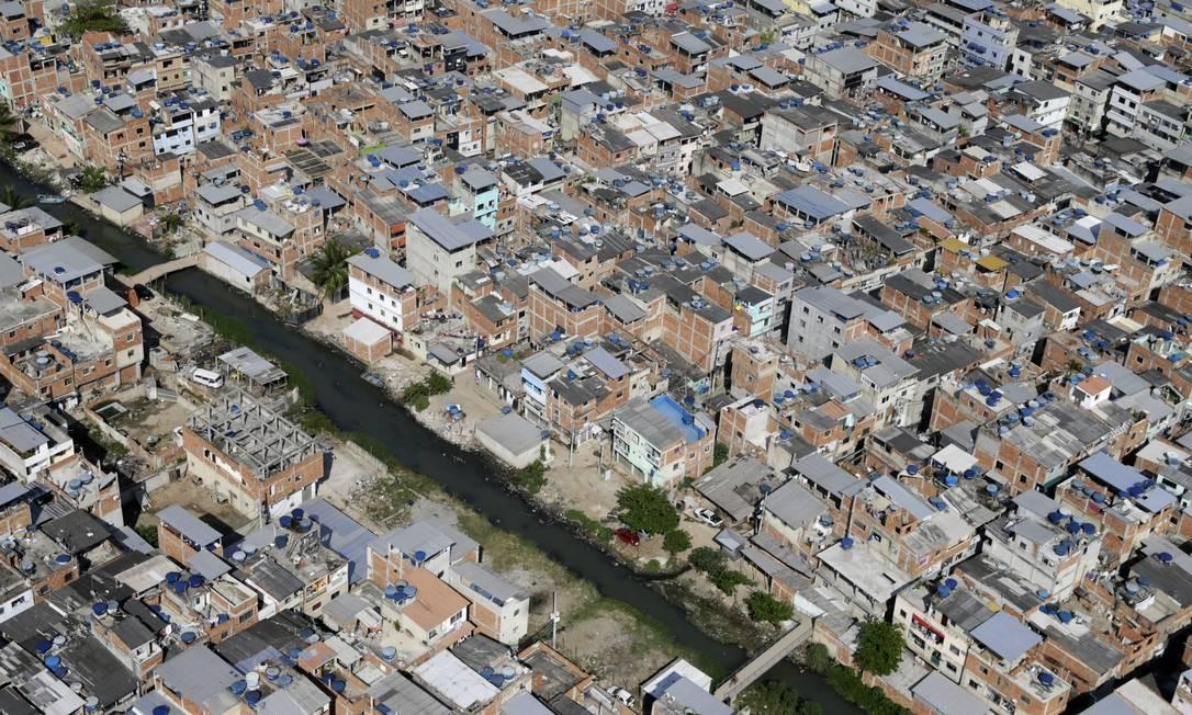 Rio das Pedras, na Zona Oeste do Rio Foto: Custódio Coimbra / Agência O Globo - 08/01/2020