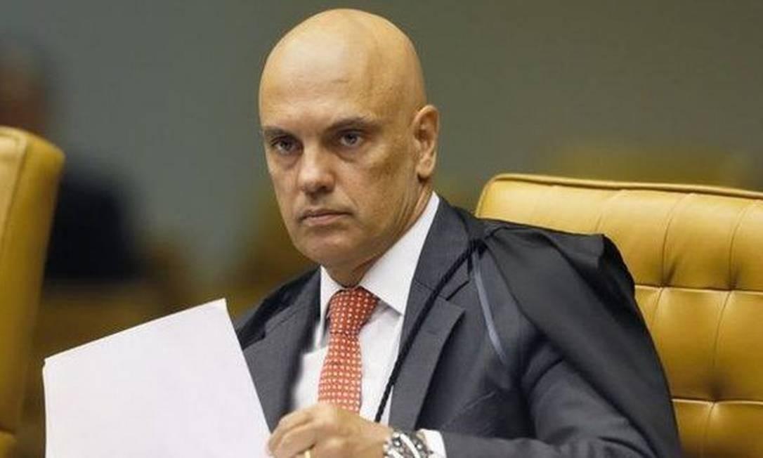 O ministro Alexandre de Moraes é foi escolhido por Toffoli para conduzir o inquérito das fake news Foto: STF