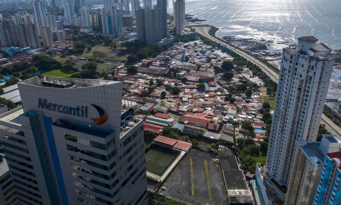 Boca La Caja, em Punta Pacifica, na Cidade do Panamá, capital do país Foto: Luis Acosta / AFP