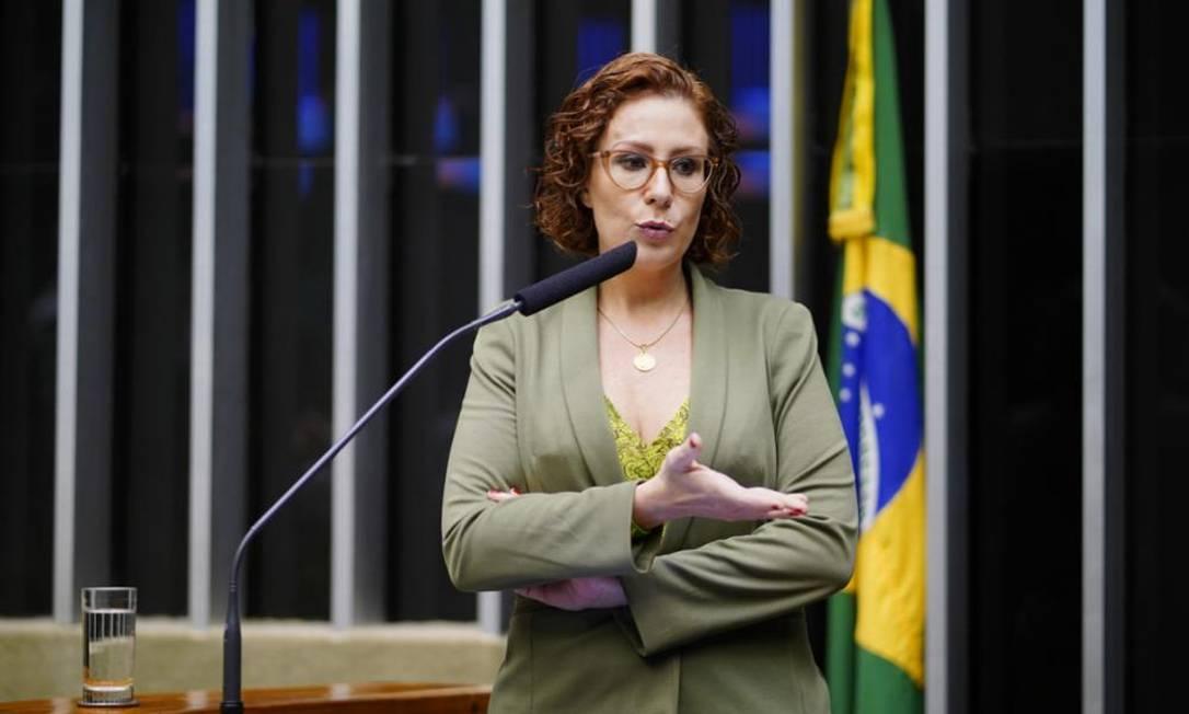 A deputada federal Carla Zambelli (PSL- SP) 10/03/2020 Foto: Agência Câmara