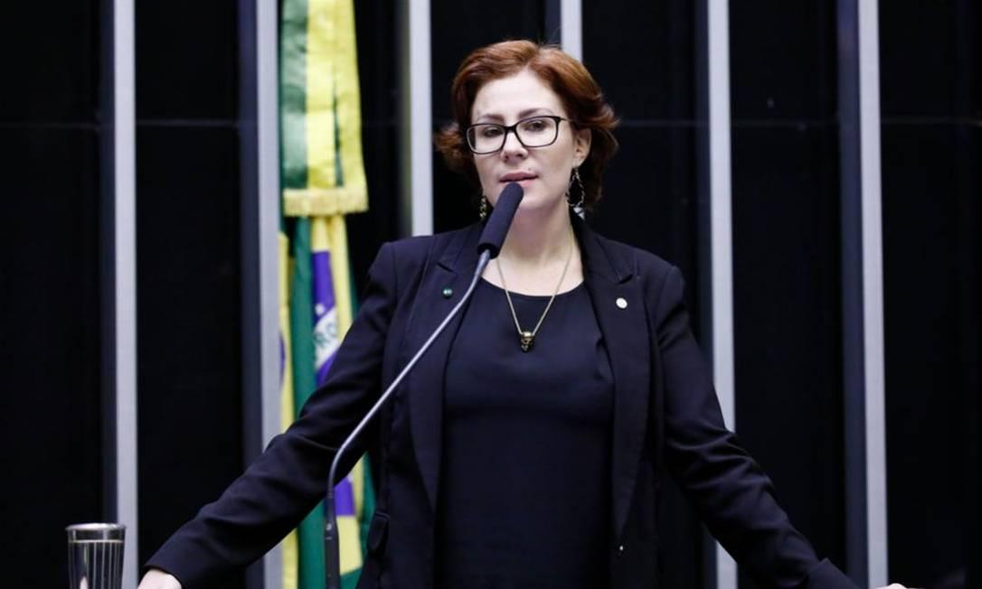 A deputada federal Carla Zambelli (PSL- SP) 15/07/2019 Foto: Agência Câmara