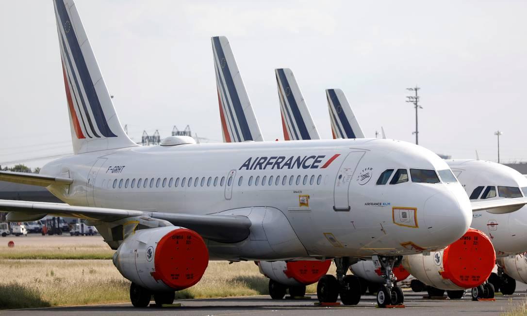 A Air France está entre as empresas notificadas pela Senacon Foto: CHARLES PLATIAU / REUTERS