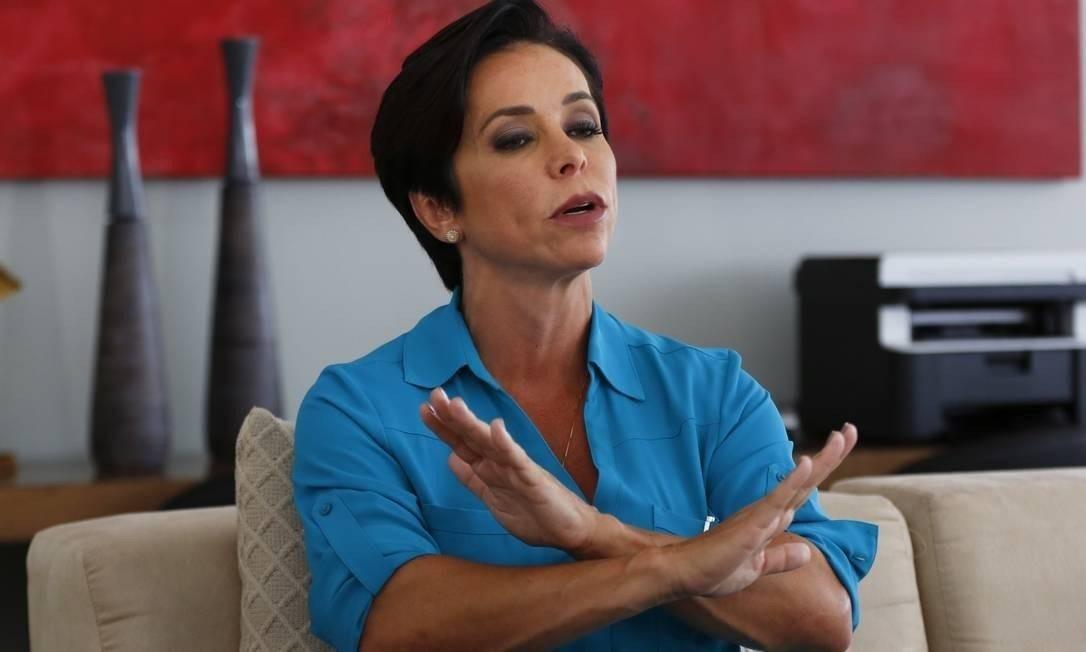 A ex-deputada Cristiane Brasil Foto: Michel Filho / Agência O Globo