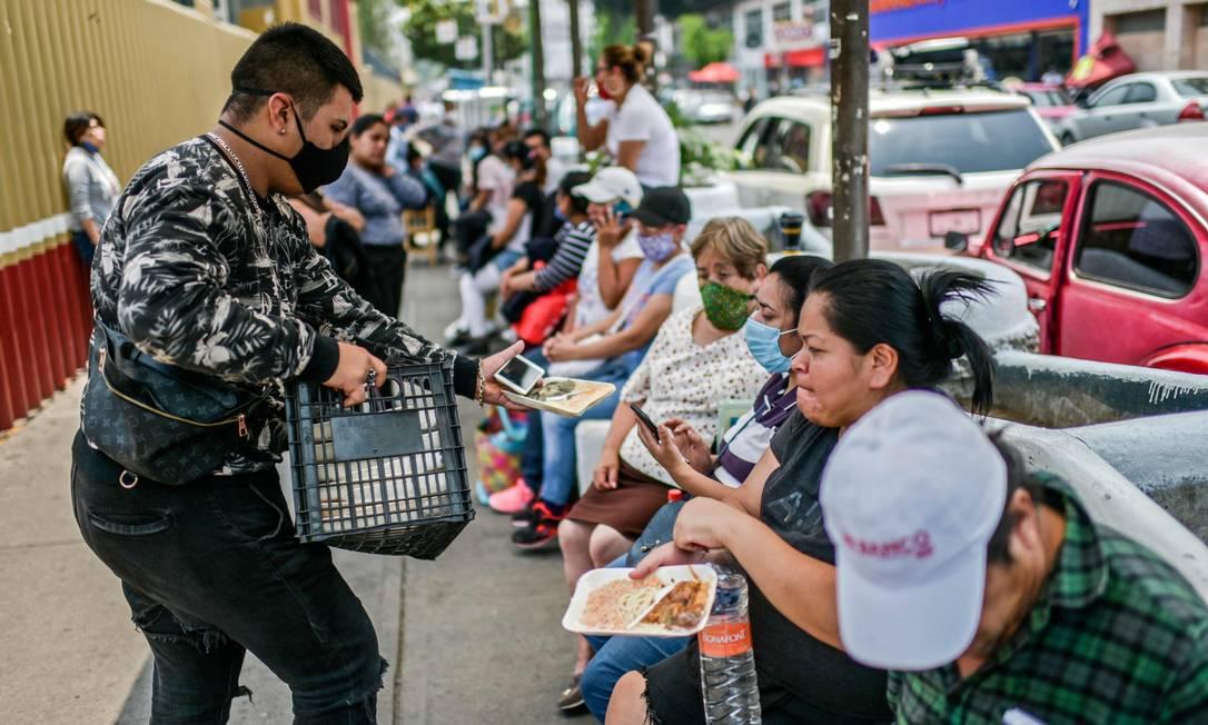 Em Puebla, autoridades resolver concentrar detentos infectados pelo novo coronavírus na mesma prisão Foto: PEDRO PARDO / AFP