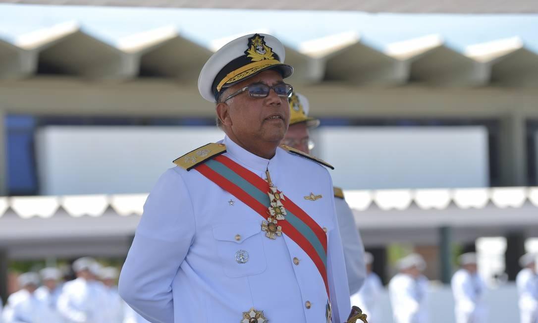 O almirante Eduardo Monteiro Lopes Foto: Marcello Casal Jr/ABr