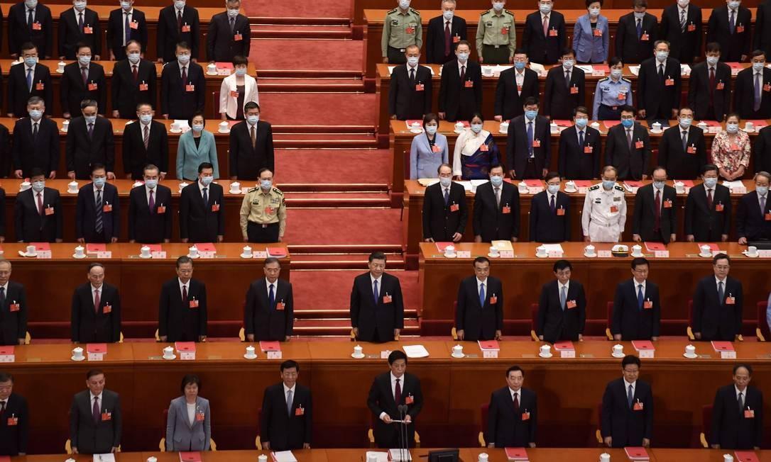 Congresso da China aprova projeto para impor lei de segurança nacional a Hong Kong