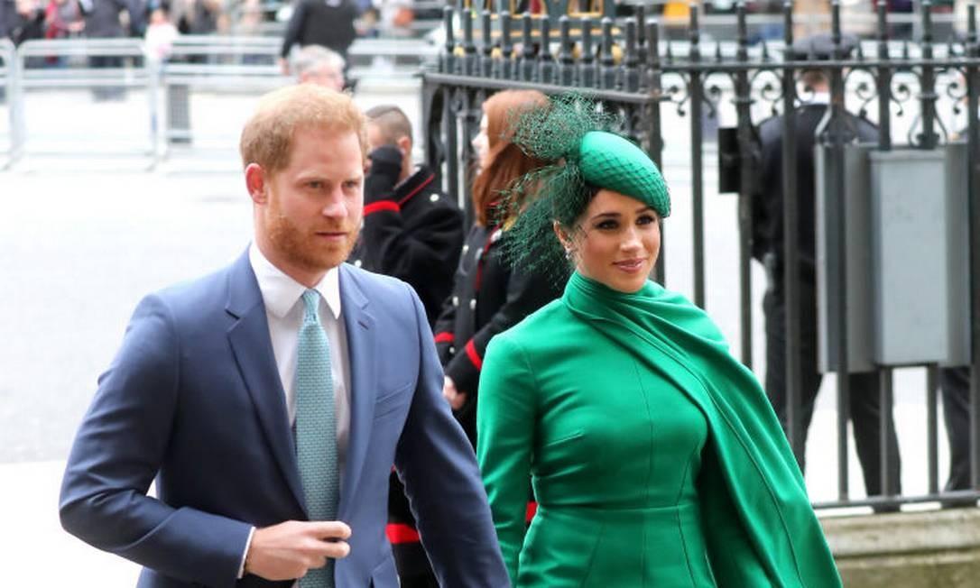 O último evento foi na Abadia de Westminster para comemorar o dia da Comunidade Britânica Foto: Chris Jackson / Getty Images