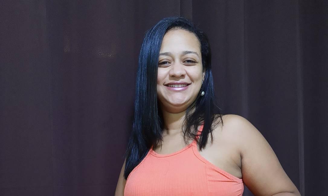 A esteticista Manoella Ribeiro, grávida de Leonam, está enfrentando problemas financeiros por conta da pandemia Foto: Acervo pessoal