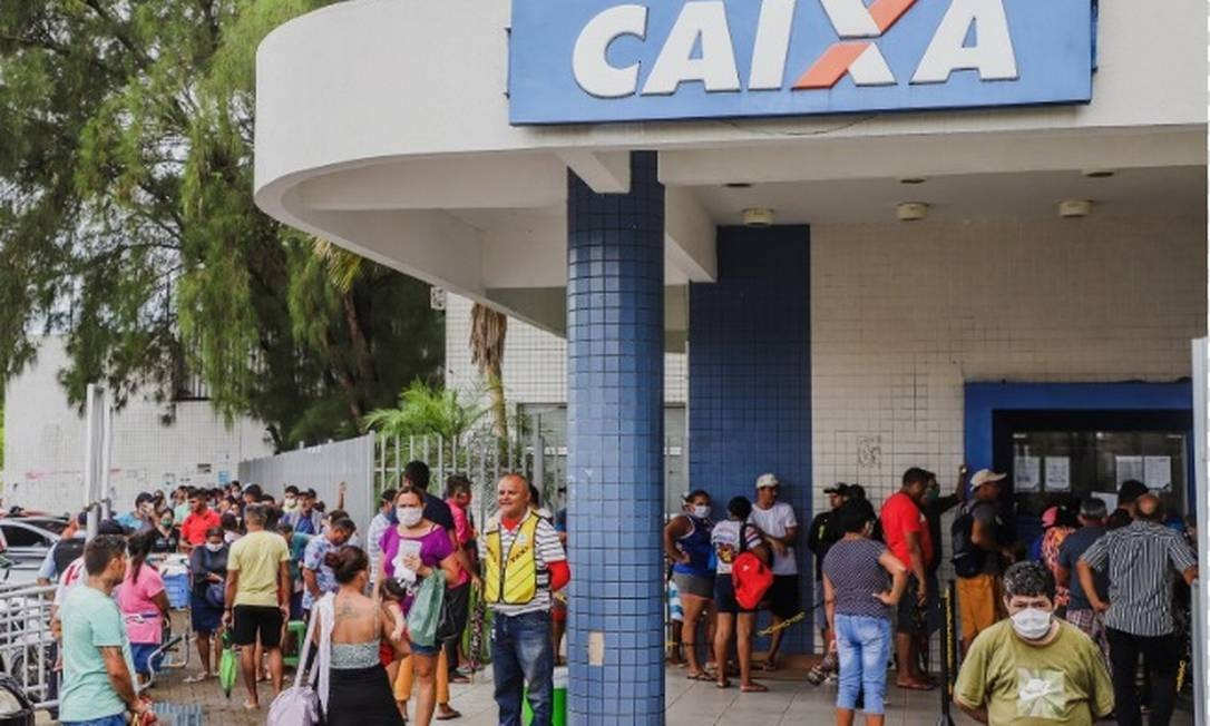 Caixa Econ?mica inicia o pagamento da 3a parcela do auxílio de R$ 600 neste sábado, 27 de junho Foto: Arquivo