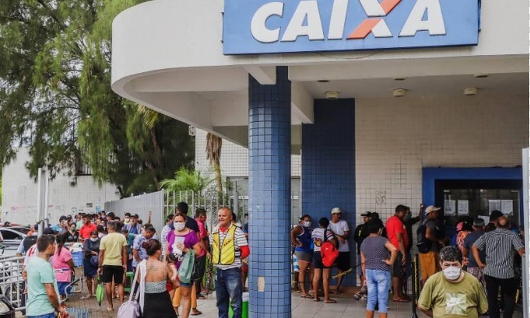 Caixa Econômica inicia o pagamento da 3ª parcela do auxílio de R$ 600 neste sábado, 27 de junho Foto: Arquivo