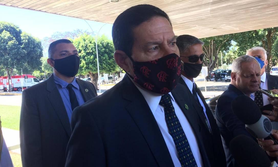 Vice-presidente, Hamilton Mourão Foto: Daniel Gullino/ Agência O Globo