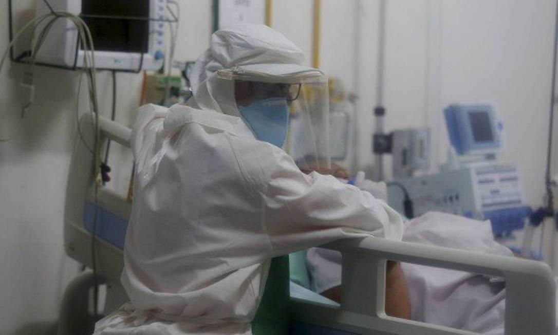 Internações por síndrome respeiratório aumentaram na ordem de 200% em maio, em relação ao mesmo período de 2019 Foto: Fabiano Rocha