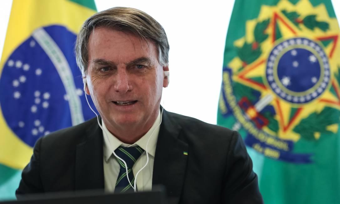 O presidente da República, Jair Bolsonaro 27/05/2020 Foto: Divulgação