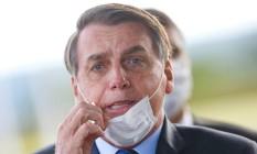 O presidente Jair Bolsonaro 13/05/2020 Foto: Adriano Machado / REUTERS