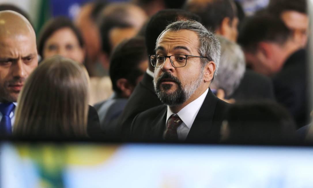 O ministro da Educação, Abraham Weintraub 05/02/2020 Foto: Jorge William / Agência O Globo