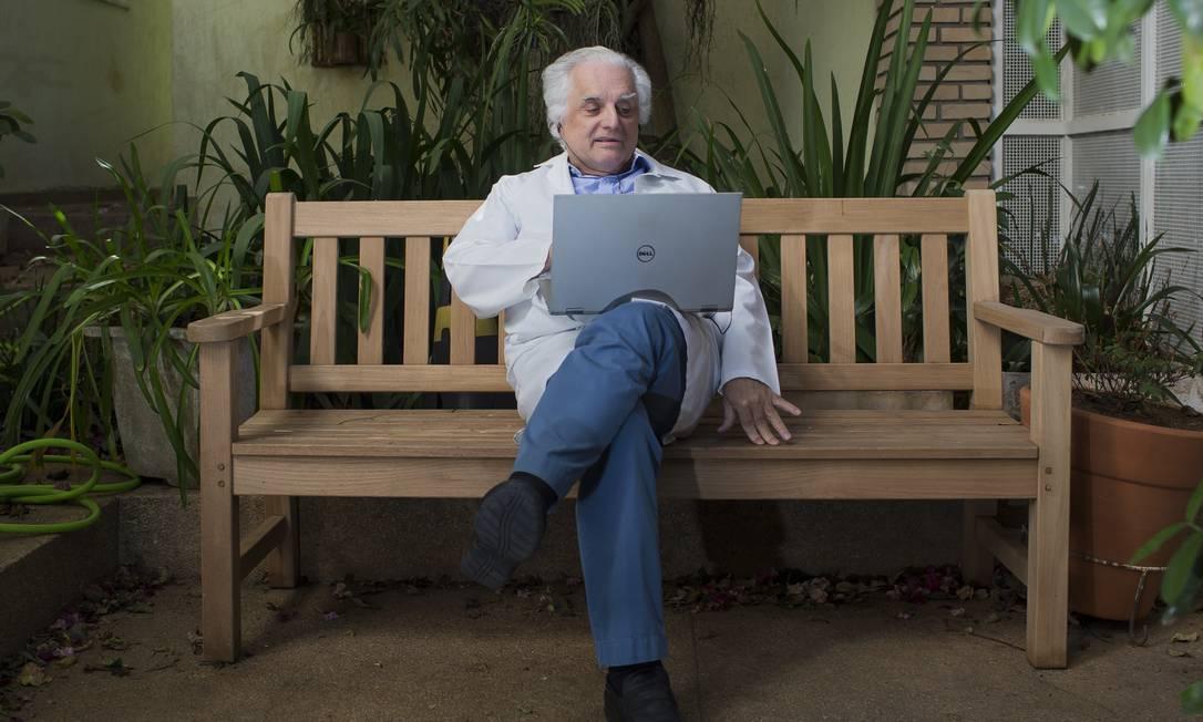 O epidemiologista e professor da Escola de Medicina da USP PauloLotufo Foto: Edilson Dantas / Agência O Globo