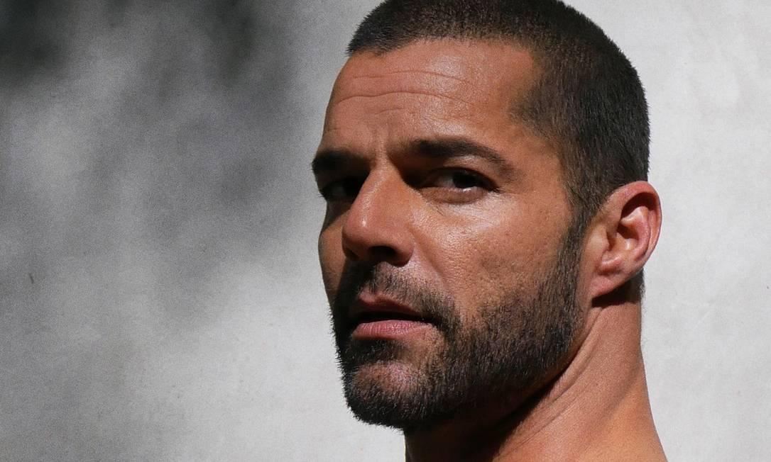 O cantor Ricky Martin Foto: Divulgação