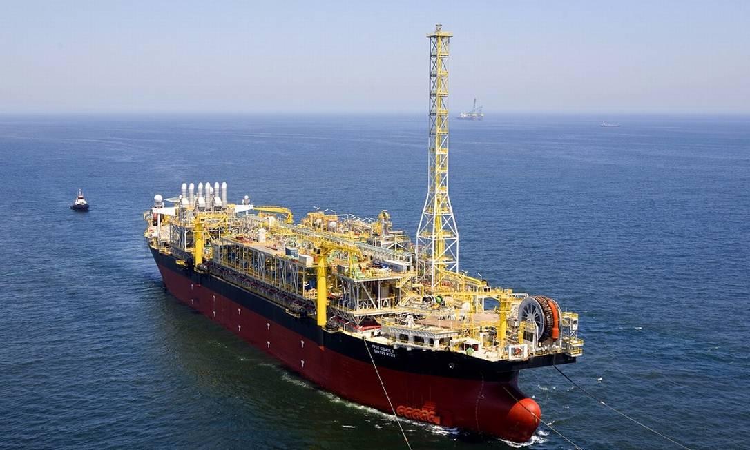 Nos últimos trimestres, a contabilização das plataformas para exploração de petróleo tem turbinado o cálculo do investimento no país. Divulgação/Modec Foto: Divulgação / Modec