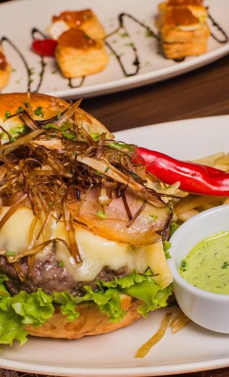 Paris 6: burger picanha Foto: Divulgação