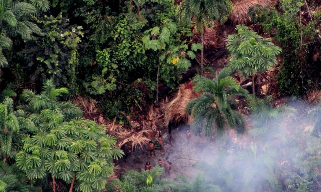 Casos de Covid-19 em indígenas isolados elevam preocupação quanto à dizimação desses povos Foto: Funai
