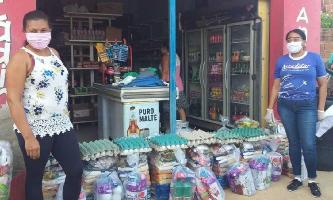 Mais de 30 mil cestas báscias já foram entregues pelo Brasil Foto: Divulgação