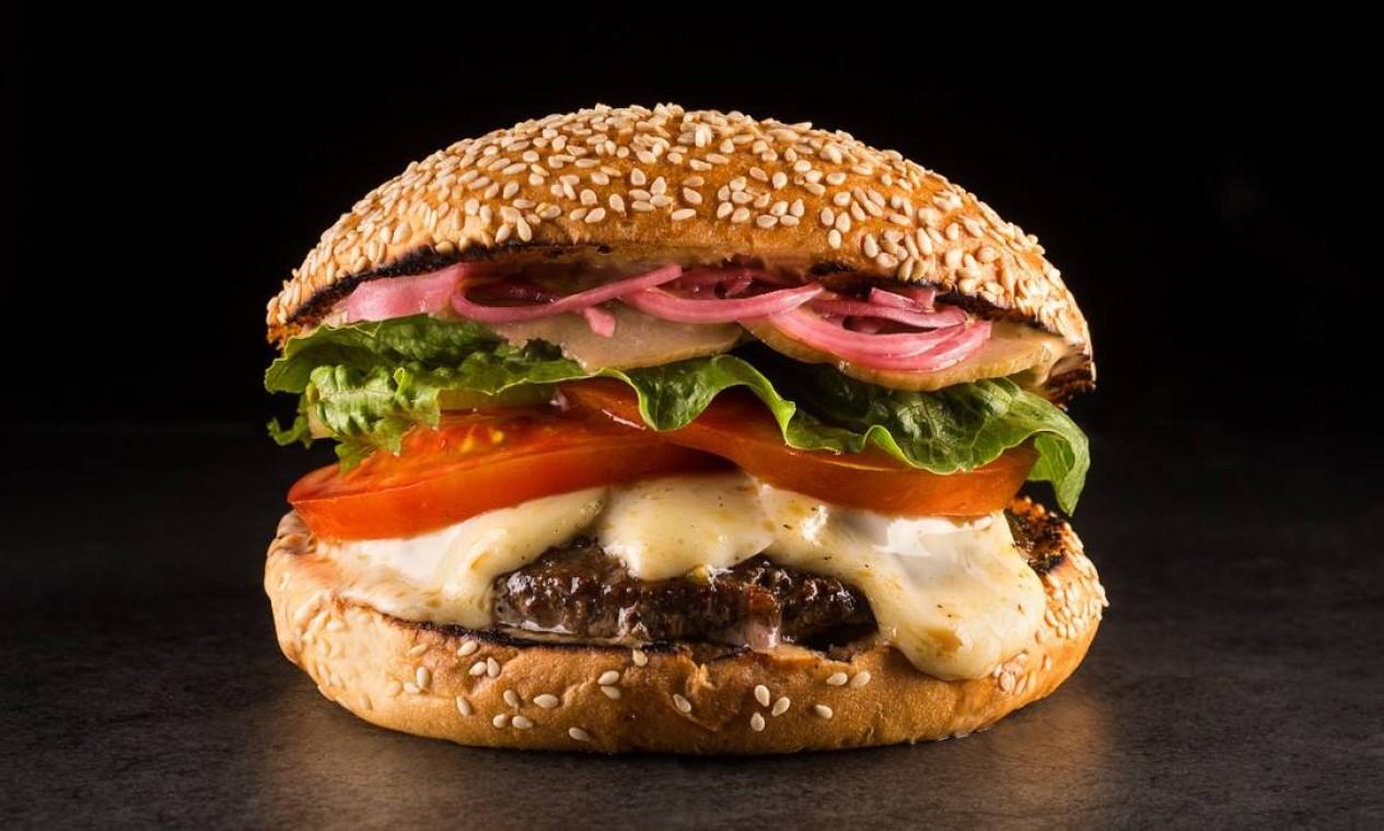 T.T. Burger: blend do chef Thomas Troisgros Foto: Divulgação/Tomas Rangel