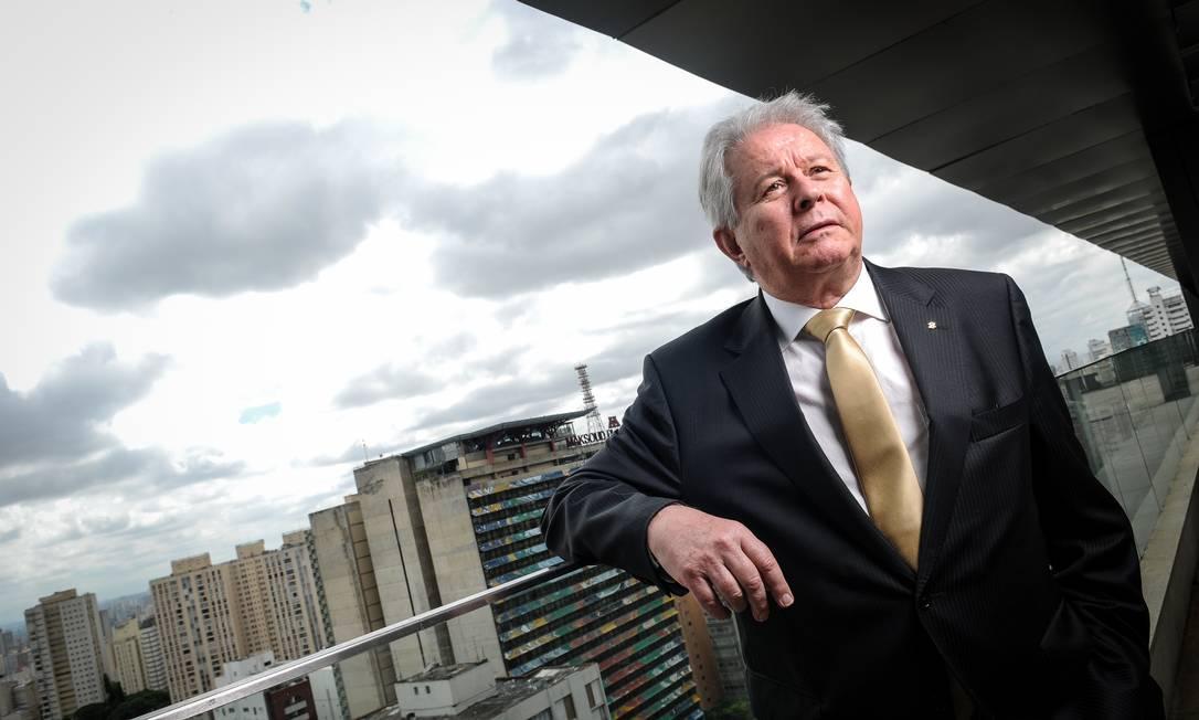 Rubem Novaes, presidente do Banco do Brasil, está convencido de que é preciso privatizar a instituição Foto: 2935 / Agência O Globo