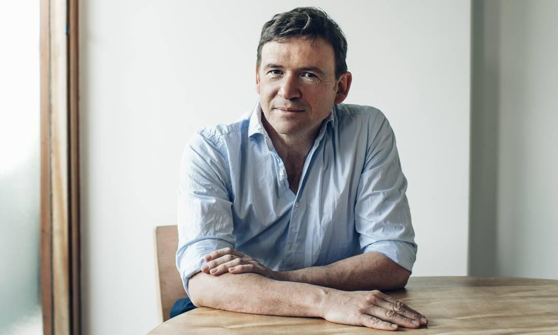 O escritor britânico David Nicholls: inspiração no teatro Foto: Divulgação