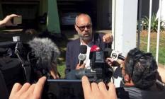 Alan dos Santos, responsável pelo Terça Livre, canal no YouTube, recebeu recursos de estatais Foto: Jorge William / Agência O Globo