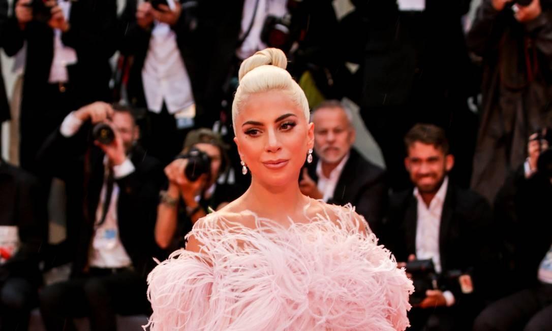 A cantora americana Lady Gaga Foto: NurPhoto via Getty Images