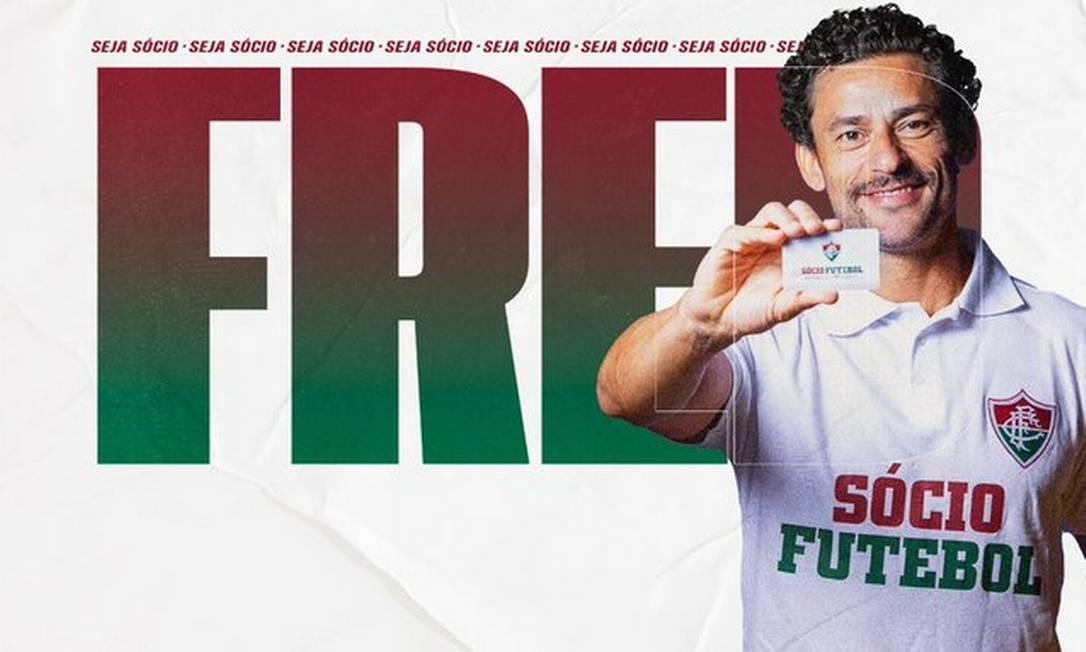 Fred retorna ao Fluminense Foto: Divulgação/Fluminense