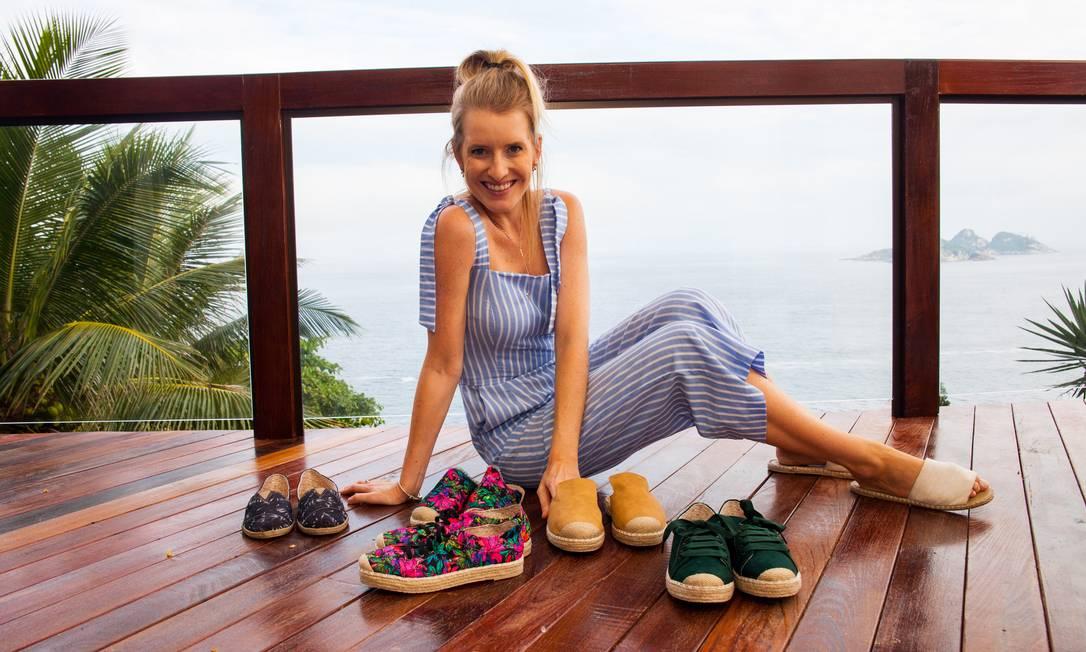 Lapa Shoes: Vendas dobraram no e-commerce, segundo a sócia Paula dos Passos Foto: Divulgação