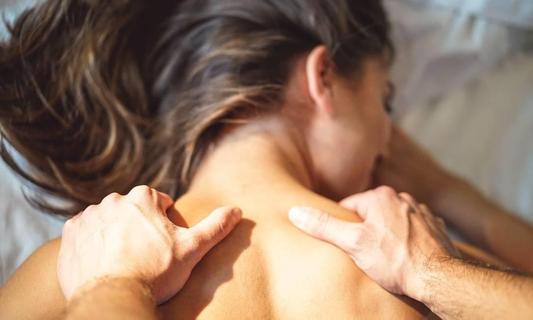Técnicas de massagem Foto: Shuttertock