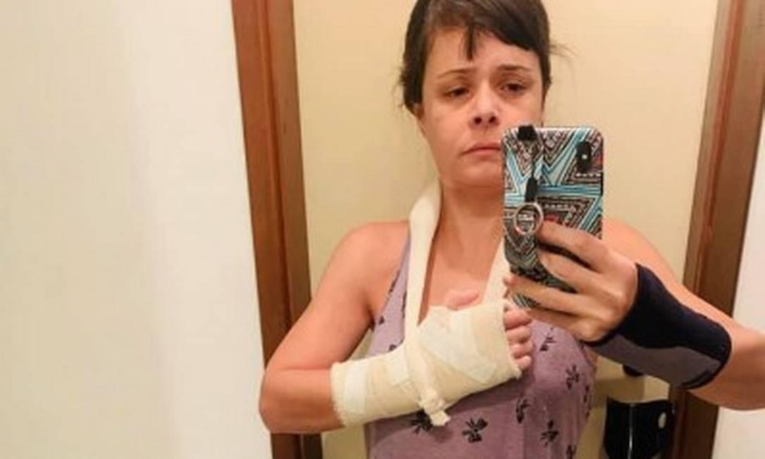A médica foi agredida no Grajaú Foto: Facebook / Reprodução