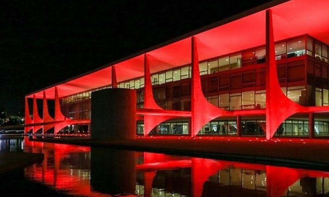 Palácio do Planalto Foto: Reprodução / Facebook