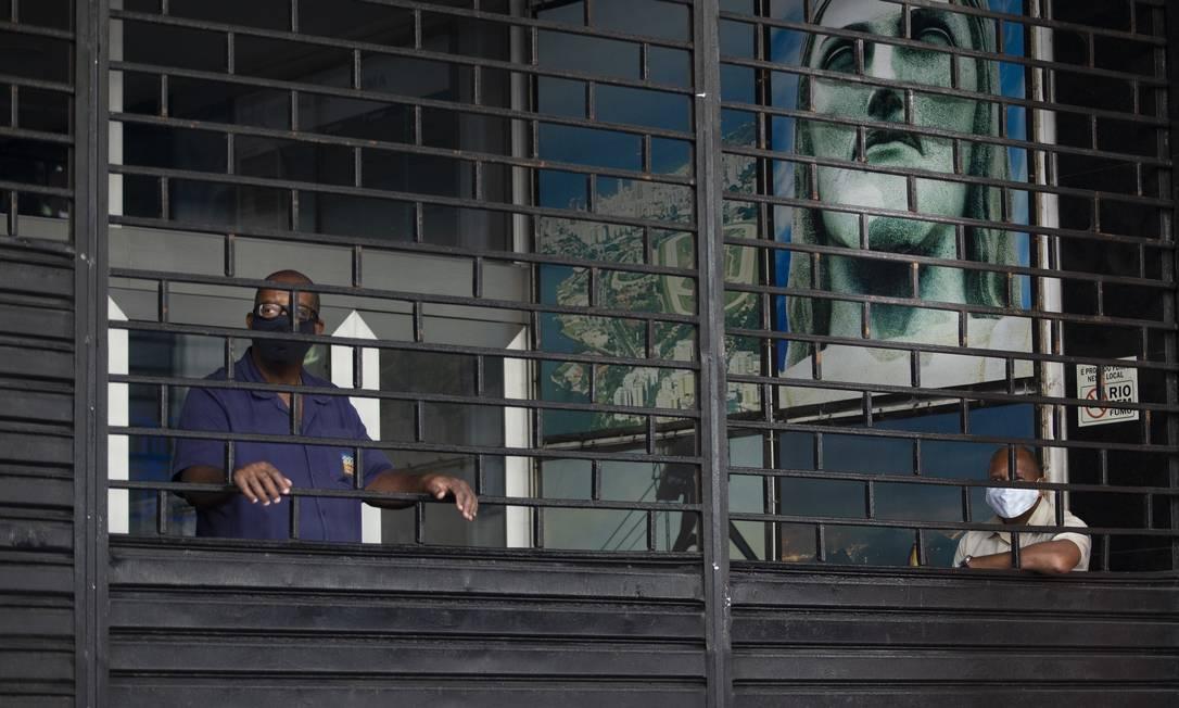Plano prevê em seis etapas a retomada do comércio e demais atividades na cidade Foto: Márcia Foletto / Agência O Globo