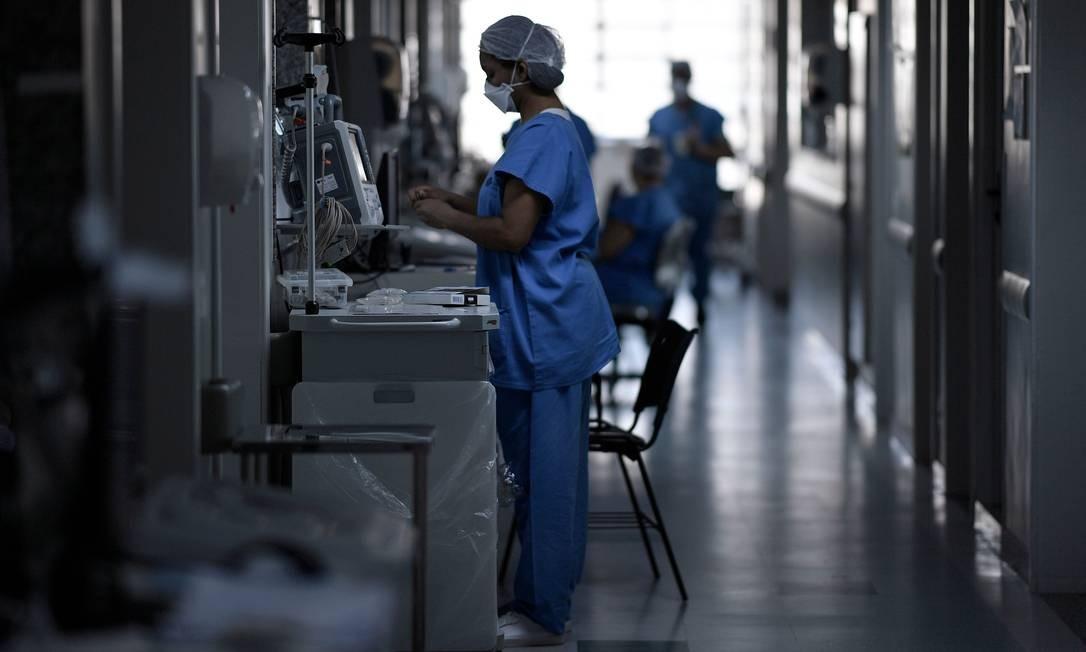 Hospital de Belo Horizonte, em Minas Gerais Foto: DOUGLAS MAGNO / AFP