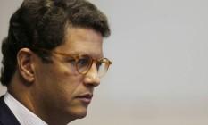 O ministro do Meio Ambiente, Ricardo Salles. Foto: Jorge William / Agência O Globo Foto: Jorge William / Agência O Globo