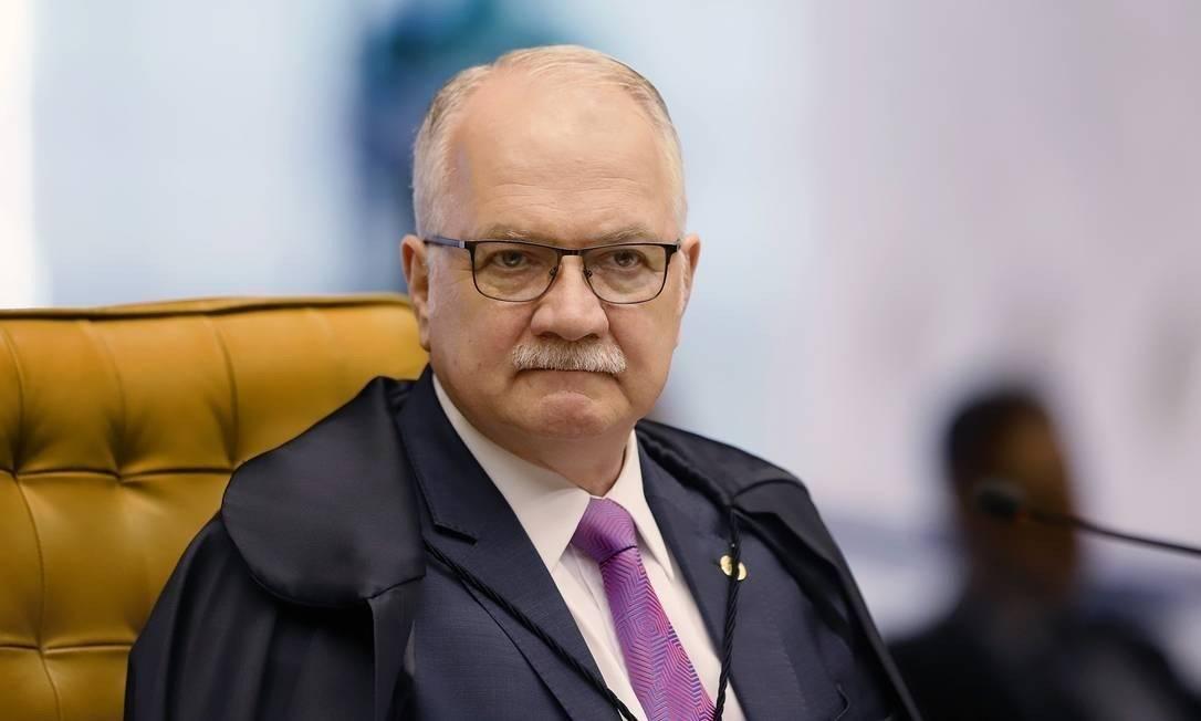 O ministro do STF Edson Fachin Foto: Reprodução