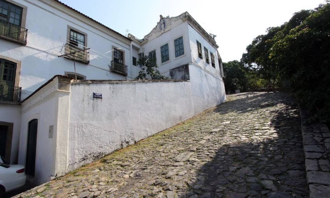 Ladeira da Misericórdia no Rio de Janeiro é um dos bens tombados pelo Iphan Foto: Paulo Nicolella / Agência O Globo