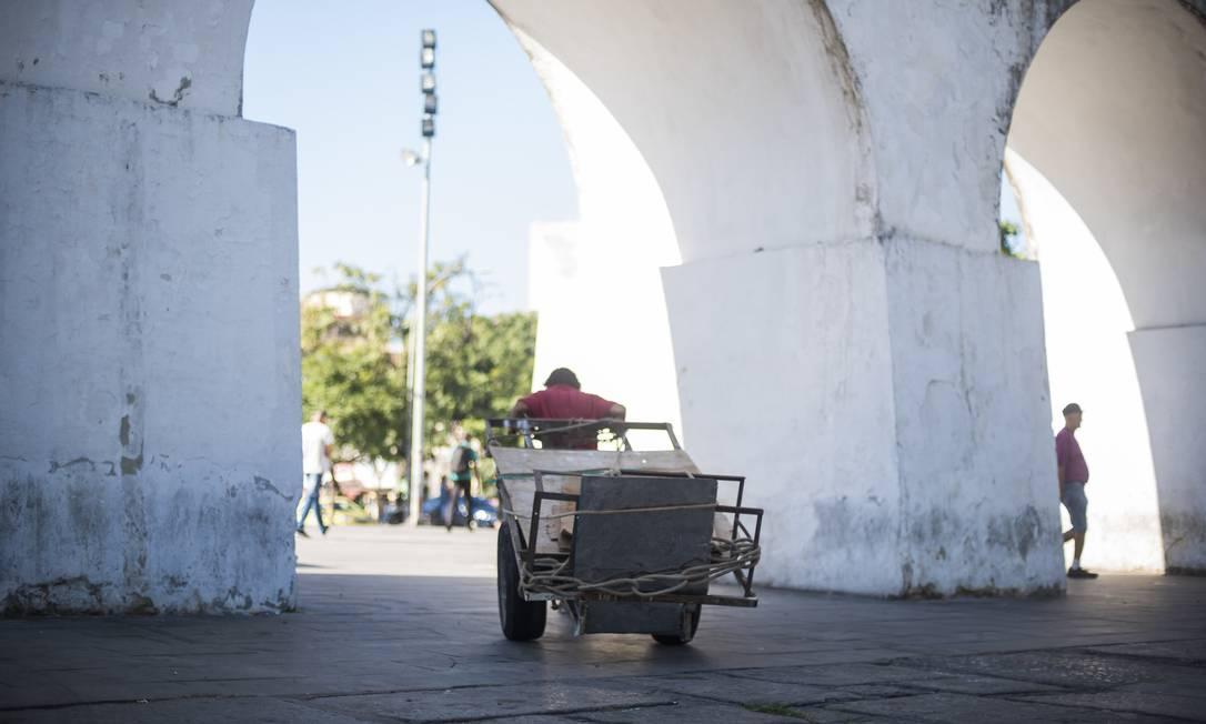 Catadores são responsáveis por cerca de 90% da coleta de material reciclável no Brasil Foto: Divulgação Pimp my Carroça
