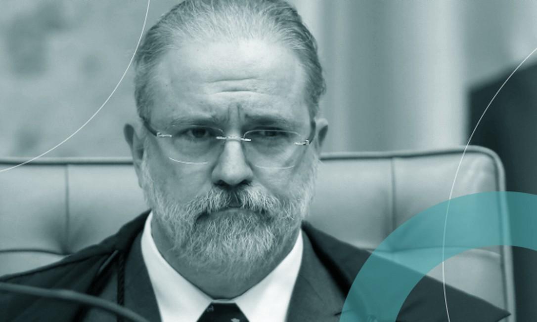 Augusto Aras em sessão no Supremo Tribunal Federal: Tacla Duran poderá resultar em nova derrota para procurador-geral da República  / Crédito: Jorge William / Agência O Globo