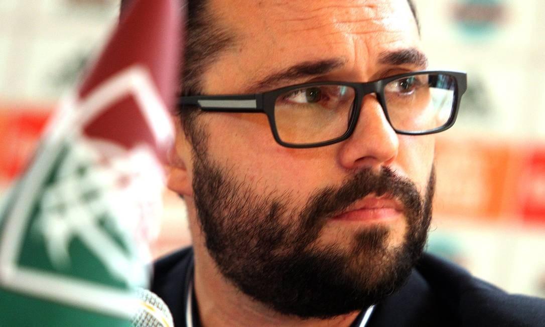 Mario Bittencourt, presidente do Fluminense Foto: Nelson Perez/Fluminense