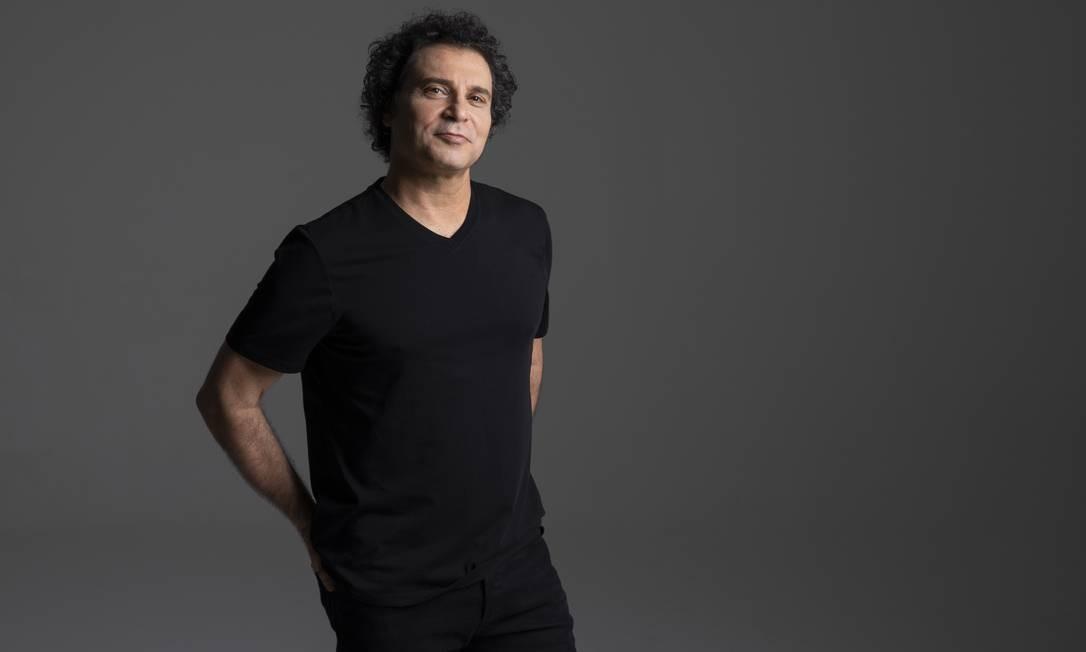 O cantor e compositor Frejat Foto: Leo Aversa / Divulgação