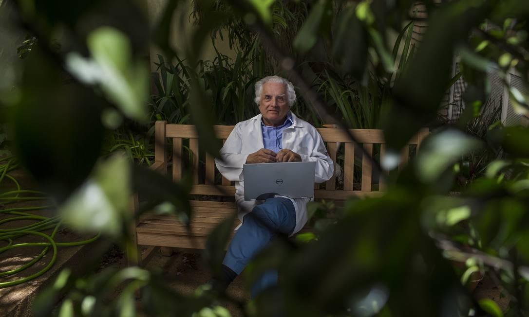 Paulo Lotufo é epidemiologista e professor da Universidade de São Paulo Foto: Edilson Dantas / Agência O Globo