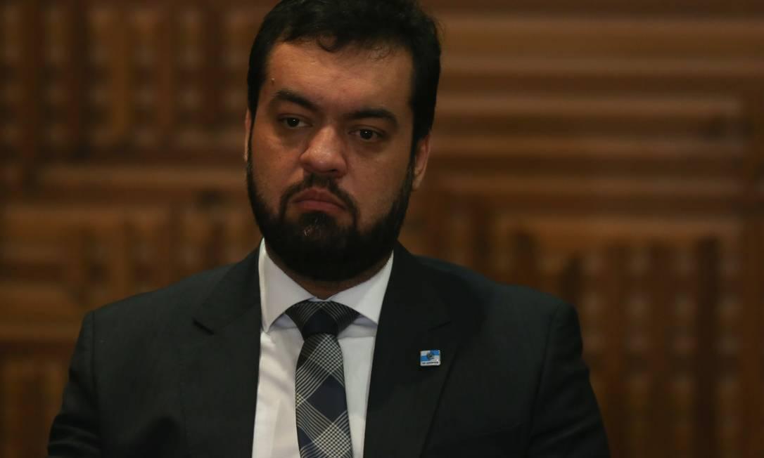 O vice-governador Claudio Castro Foto: Pedro Teixeira / Agência O Globo / 12-03-2019