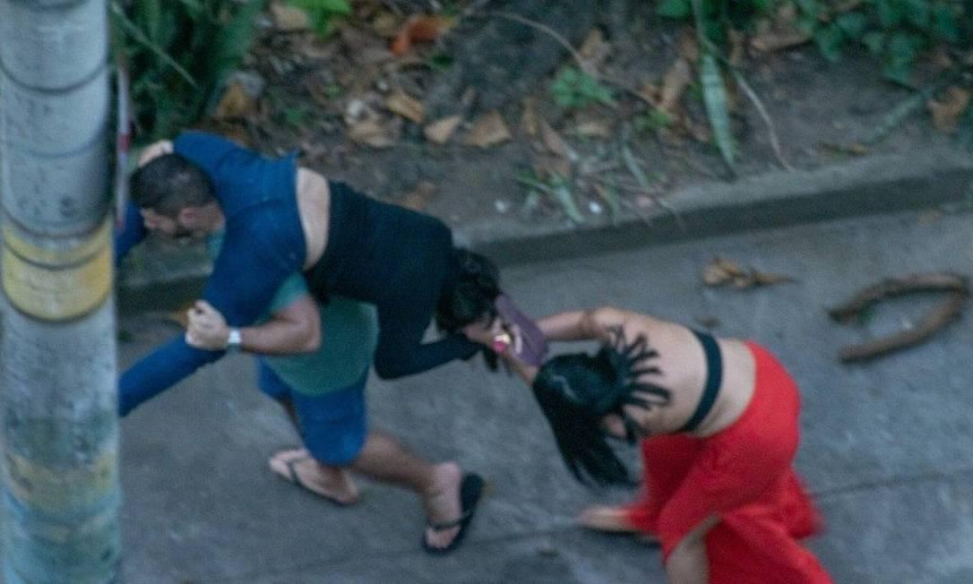 Ticyana D'Azambuja foi agredida no sábado Foto: Reprodução