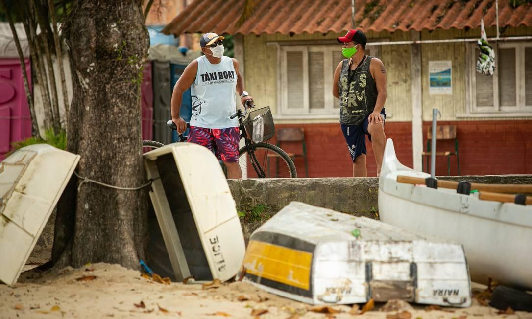 A região de saúde da Baía da Ilha Grande, que engloba Angra dos Reis, Paraty e Mangaratiba, contabiliza mais de 50 óbitos Foto: Hermes de Paula / Agência O Globo