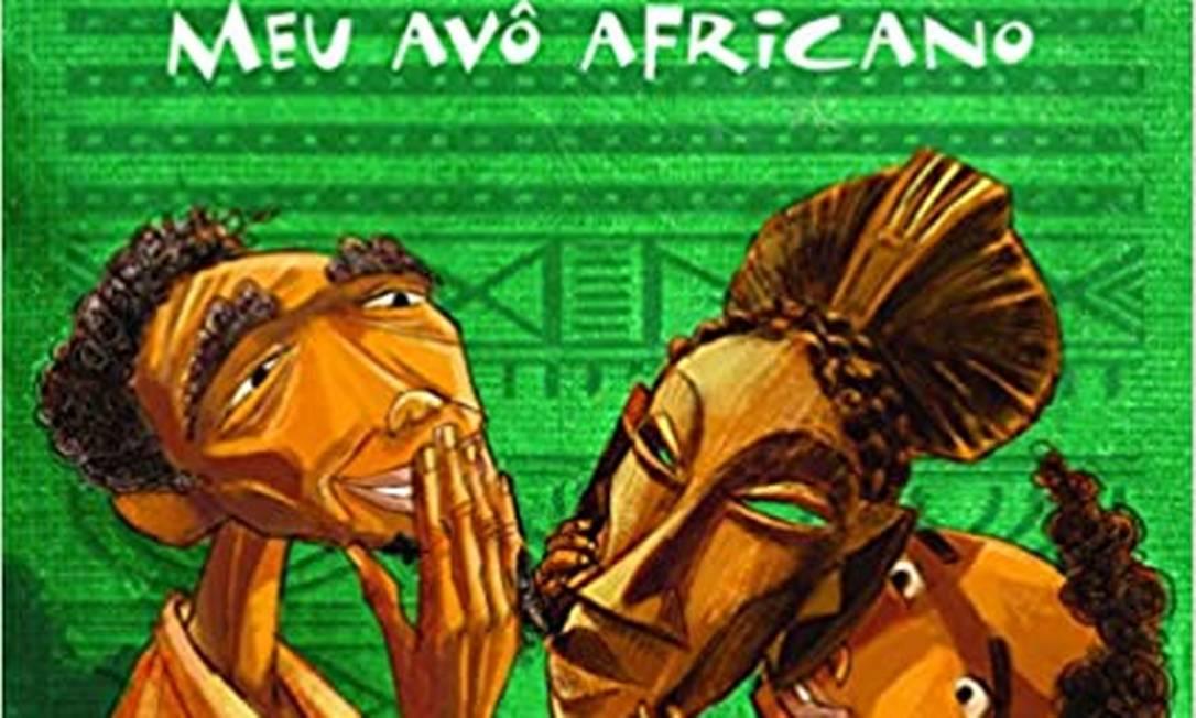 Livro 'Meu avô africano' Foto: Reprodução