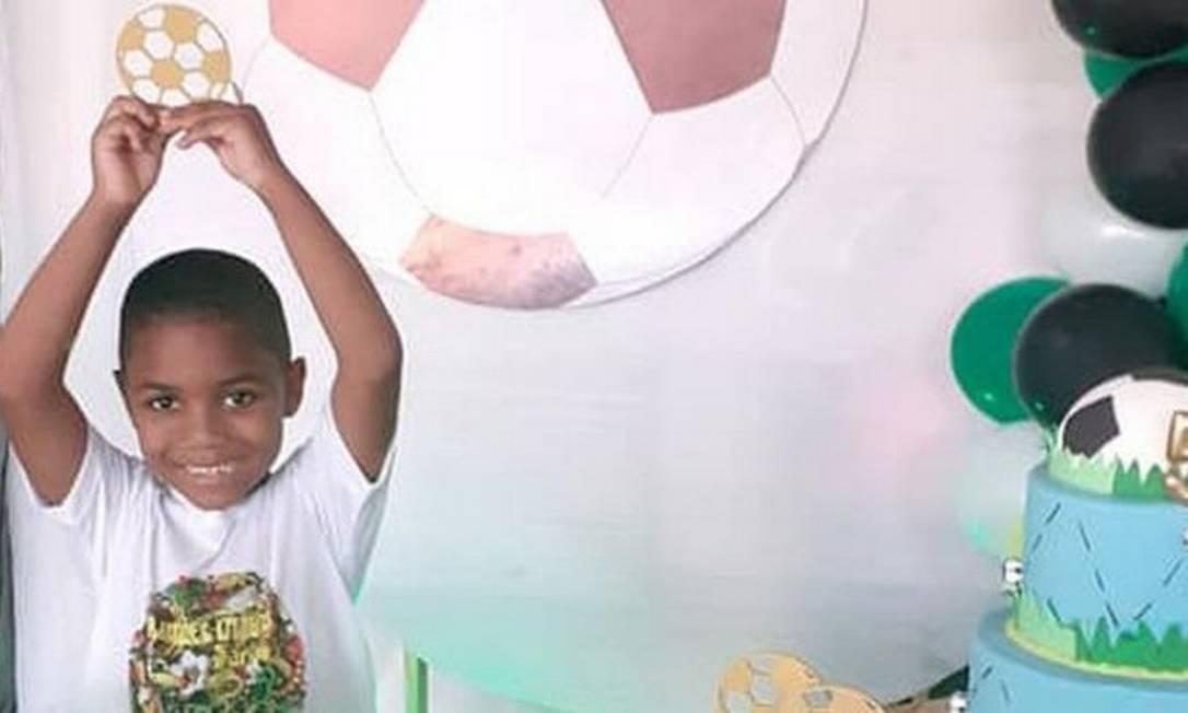 Morte de garoto de 5 anos enquanto estava aos cuidados da patroa de sua mãe causou comoção de ativistas, celebridades e políticos Foto: Reprodução